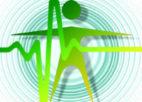 צלמית אדם ירוקה וגל אנרגיה